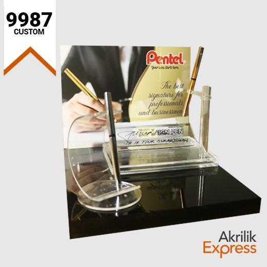 Display Pulpen Pentel - 9987
